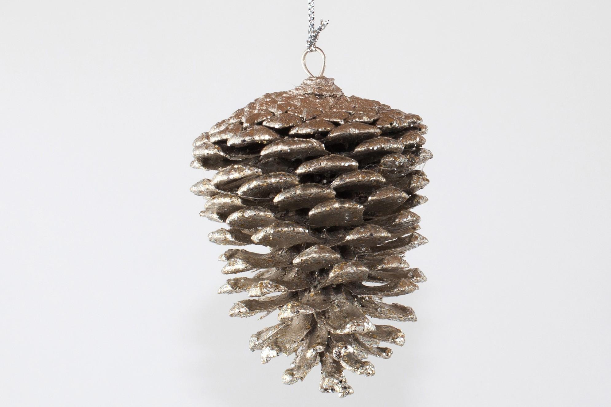 2 3 pine cone ornament for Pine cone ornaments