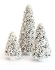 Pine Cone Tips Tree (Pearl White)