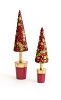 Tresor Topiary Tree (Red/Citron)