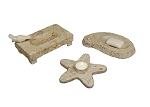 Starfish-Shape Soapstone Tray