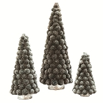 Sunflower Pod Cone Tree (Silver) - SALE