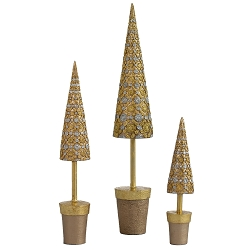 Amalfi Topiary Tree (Dark Champagne)