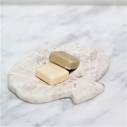 Clam Shell-Shape Soap Stone