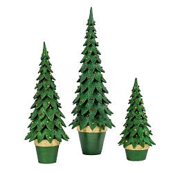 Tannenbaum Cone Tree (Traditional Green)