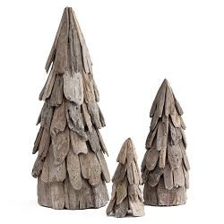 Driftwood Cone Tree (Whitewash)