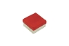 3 x 3 Small Capiz Box (Red)
