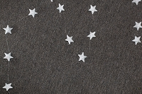8' Star Garland (White)