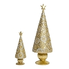 Krisalis Cone Tree w/Star (Gold Silver) 7