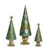Samira Cone Tree w/Ribbed Base & Star (Alhambra) 7
