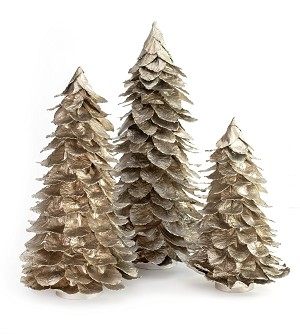 Butterfly Leaf Cone Tree (Champagne Gold)