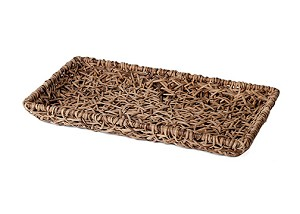 "Weaved Vine Coffee Tray (Natural) - 11""x6"""