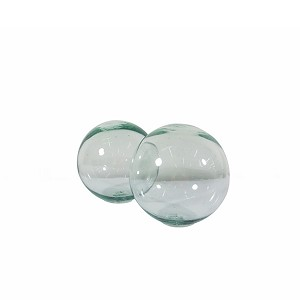 "4"" Glass Ball Decor (Clear)"