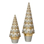 Panache Cone Tree (Winter White)