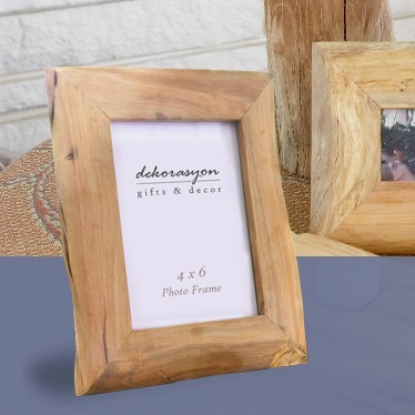 4x6 Medium Reclaimed Wood Frame (Natural)